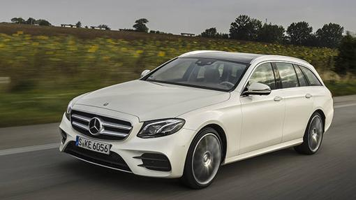 El nuevo Mercedes E Estate resulta muy elegante y dinámico