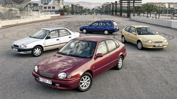 Medio siglo de Toyota Corolla