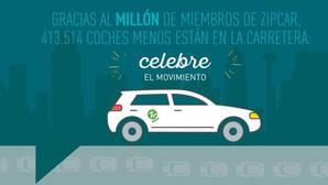 Un millón de conductores apuestan por el «carsharing» de Zipcar