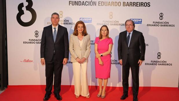 Vicente de los Mozos, «figura de prestigio 2016» para la Fundación Eduardo Barreiros