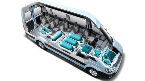 Hyundai H350 Fuell Cell