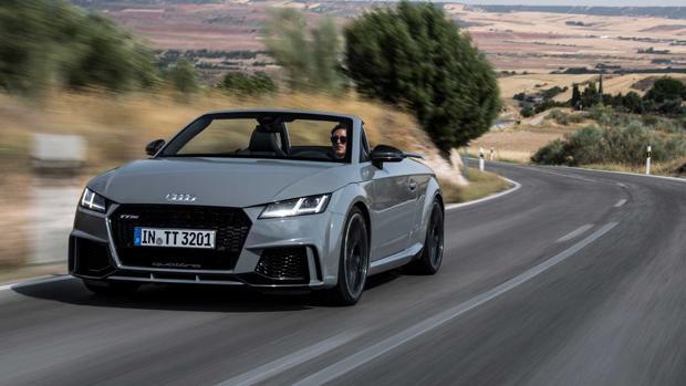 Al volante del nuevo Audi TT RS
