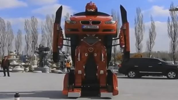El BMW convertido en Transformer