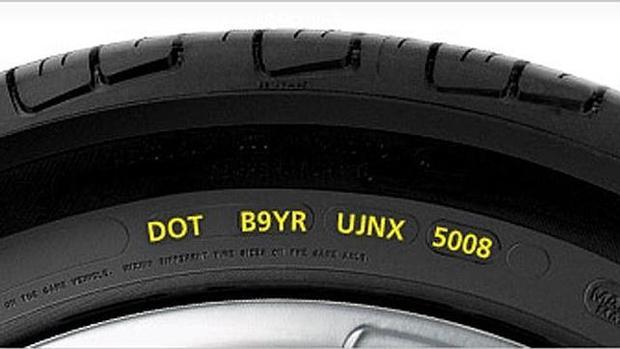 ¿Qué significa el código que aparece en el lateral de los neumáticos?