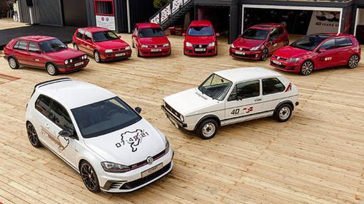 Las siete generaciones del Golf GTI podrán verse en el Jarama