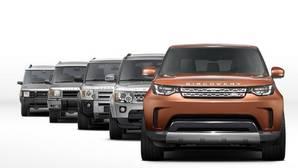 Land Rover presenta en París su nuevo Discovery