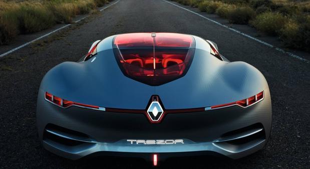 Nuevo concept-car TREZOR, lo más llamativo de Renault