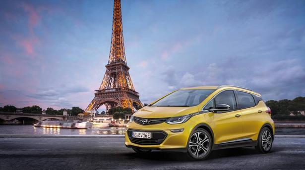 SALÓN DE PARÍS:  El Opel Ampera-e tendrá más de 500 km de autonomía