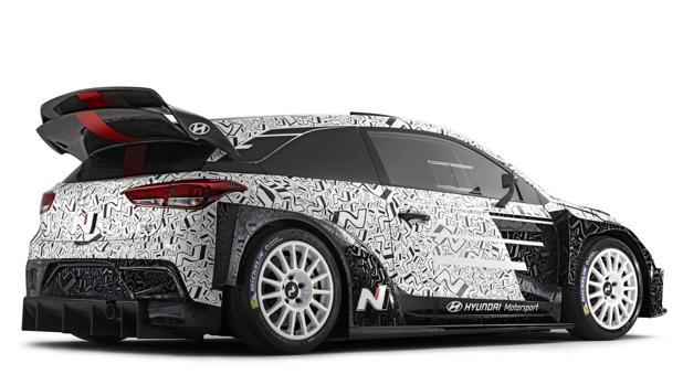 SALÓN DE PARÍS:  Espectacular WRC 2017 de Hyundai Motorsport