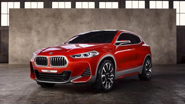 SALÓN DE PARÍS:  BMW X2 Concept: todocamino y coupé