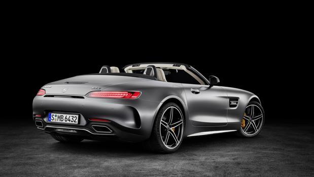 Mercedes desmelena el AMG GT