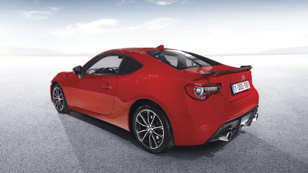 Cambios en el deportivo Toyota GT86