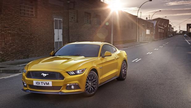 Mustang, el deportivo favorito de los españoles