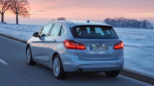 Prueba del híbrido BMW 225xe