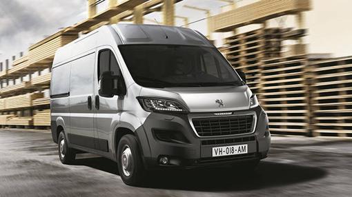 Vehículos como el Peugeot Boxer servirán para el traslado de mercancias