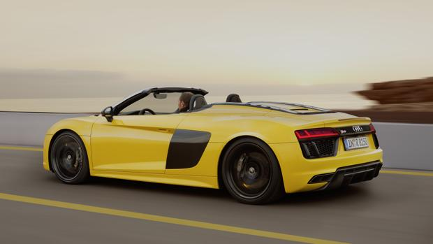 Conducimos el nuevo R8 descapotable