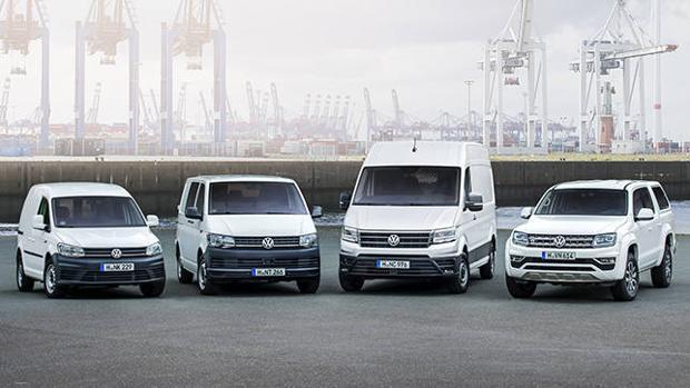 Gama Comerciales de Volkswageni