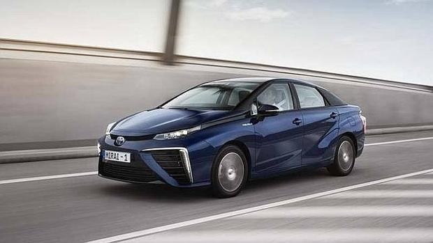 Toyota Mirai, primer coche de hidrógeno de la marca nipona