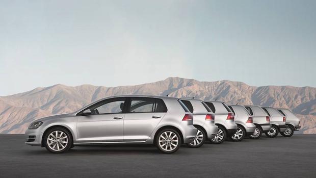 Las siete generaciones del Volkswagen Golf