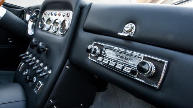 Rueda un legendario 350 GT totalmente restaurado por Lamborghini