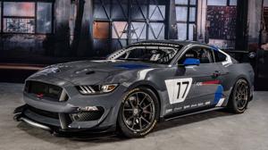 Este es el nuevo Mustang GT4 de competición