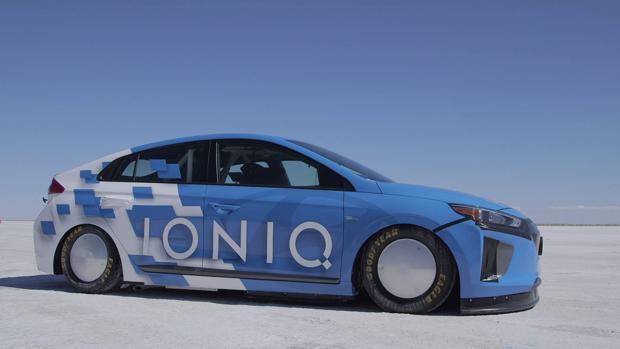 Récord de velocidad para el Hyundai Ioniq