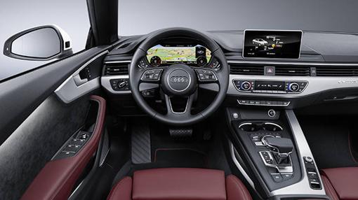 Nuevo salpicadero para el Audi A5 Cabriolet