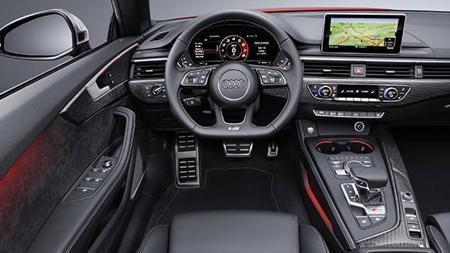 Salpicadero del nuevo Audi S5 Cabriolet
