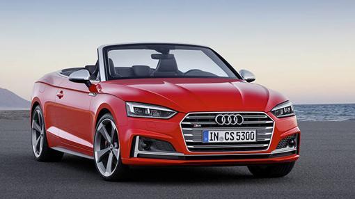 Más agresiva la imagen del nuevo Audi S5 Cabriolet