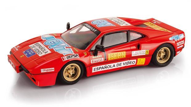 El Ferrari de Zanini ahora corre en Scalextric
