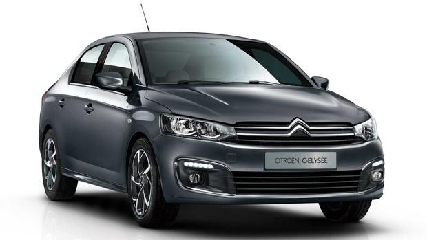 Cambios en el Citroën C-Elysée