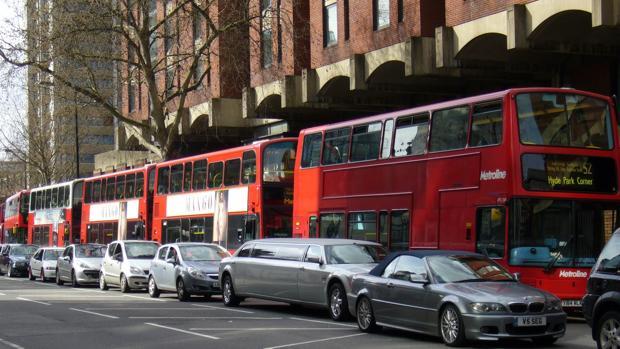 Londres, la ciudad europea más atascada