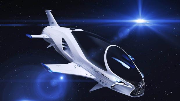 Lexus se atreve con la nave espacial del Siglo XXVIII
