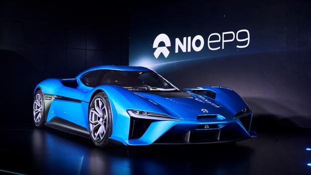 NextEV NIO EP 9, 1.360 CV de súper deportivo eléctrico