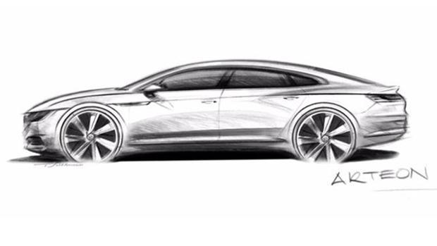 Cuatro puertas sin marco para el nuevo Volkswagen Arteon