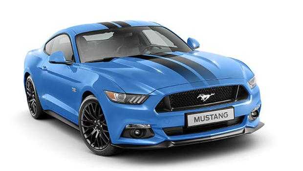 Ford Mustang Black Shadow Edition