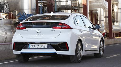 El parachoques trasero reforzado mejora la seguridad del Hyundai Ioniq