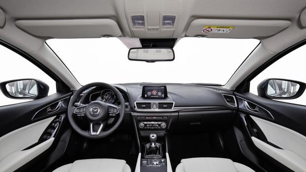 El Mazda3 perfila virtudes