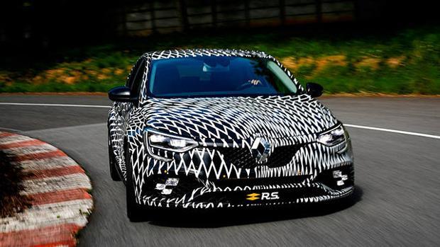 El nuevo Renault Mégane R.S. en una imagen camuflado
