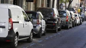 Cohes aparcados en Madrid