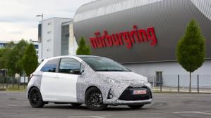 Toyota presenta en Nürburgring su Yaris más radical