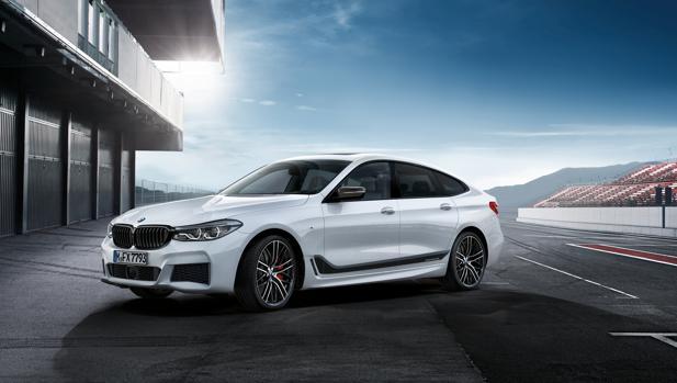 BMW ofrecerá accesorios M Performance para el nuevo Serie 6 Gran Turismo