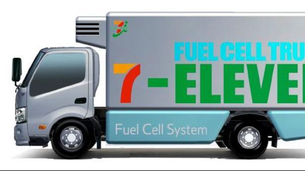 Toyota y 7-Eleven implantarán un sistema de reparto con camiones no contaminantes
