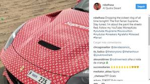 Regala a su hijo de 15 años un Ferrari de 300.000 dólares estampado por Louis Vuitton