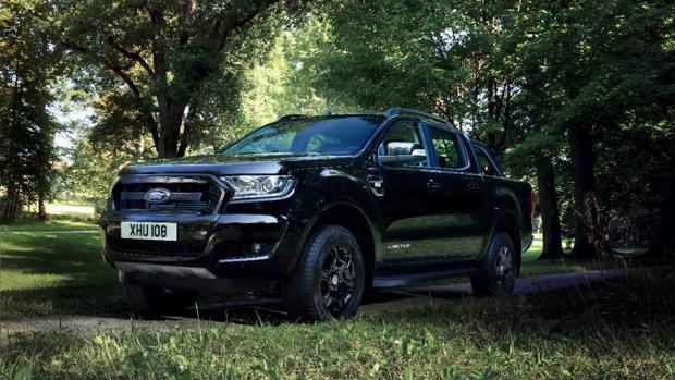 El Ford Ranger Black Edition Debuta en el Salón del Automóvil de Frankfurt