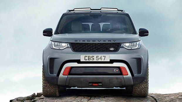 Nuevo Land Rover Discovery SVX