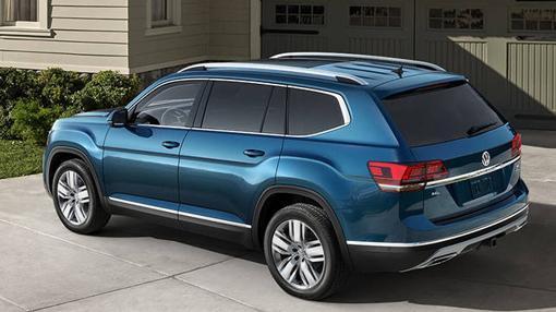 Volkswagen Atlas en Estados Unidos y Teramont en China, el SUV más grande del gigante alemán