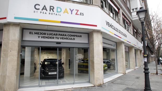 Fachada del nuevo establecimiento Cardayz en el centro de Madrid