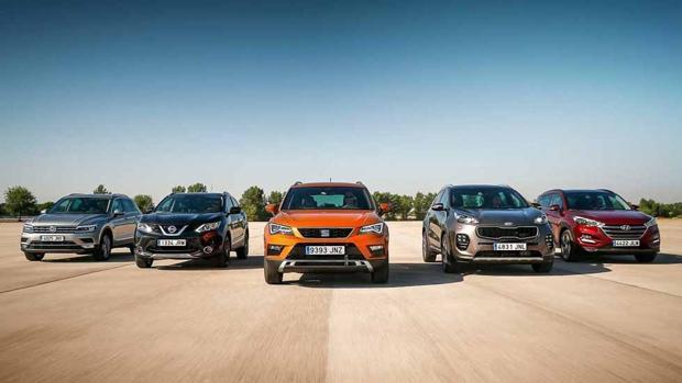 Los SUV son los grandes triunfadores en España