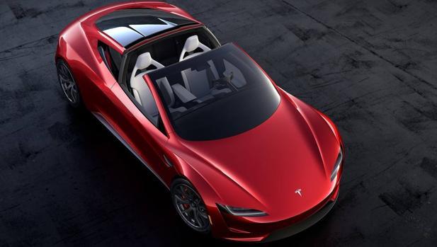 Tesla Roadster, uno de los modelos anunciados por la marca estadounidense
